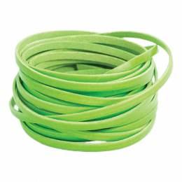 Cuir fluo vert de 5 mm - 408