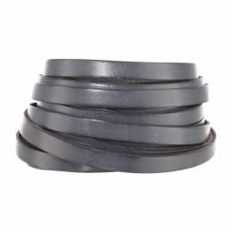 Cuir gris de 10 mm - 408