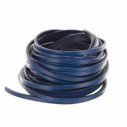 Cuir bleu jeans de 3mm - 408