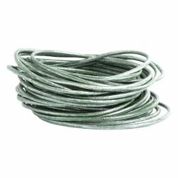 Cuir vert métalisé de 2 mm - 408
