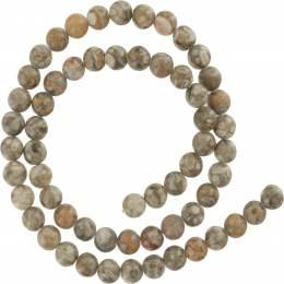 Perle maifan 6mm sur fil de 40cm - 408