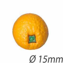 Bouton enfant fruit orange - 408
