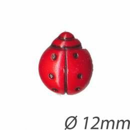 Bouton enfant coccinelle - 408