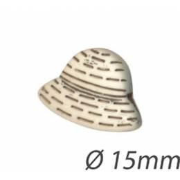 Bouton enfant chapeau - 408