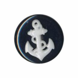Bouton enfant ancre marine - 408