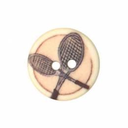 Bouton enfant raquette de tennis - 408