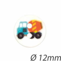 Bouton enfant camion bêton - 408