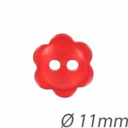 Bouton enfant couture fleur nacré - 408