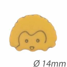 Bouton enfant hérisson - 408