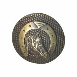 Bouton armoiries métal - 408