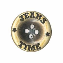 Bouton jeans à trous - 408