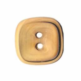 Bouton couture en bois carré - 408