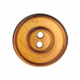 Bouton couture en bois vernis - 408