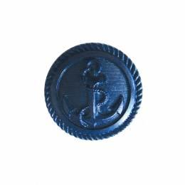 Bouton manteau ancre marine - 408