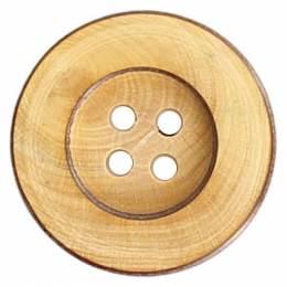 Bouton couture en bois 14mm - 408