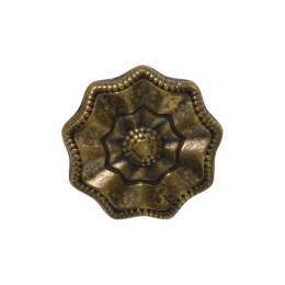 Bouton fantaisie bronze - 408