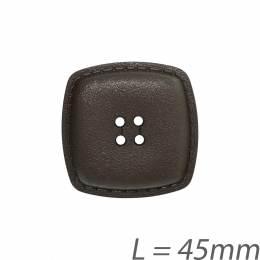 Bouton aspect cuir - 408