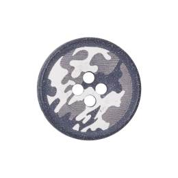 Bouton camouflage 4 trous - 408