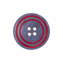 Bouton bicolore 4 trous - 408