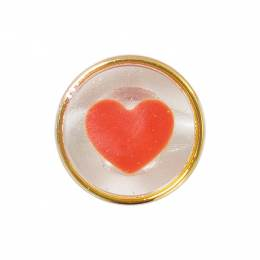 Bouton cœur à queue - 408