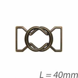 Boucle salopette bronze - 408