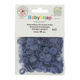 Bouton pression plastique BabySnap® rond jeans - 408