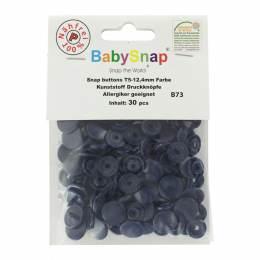 Bouton pression plastique BabySnap® rond roy - 408