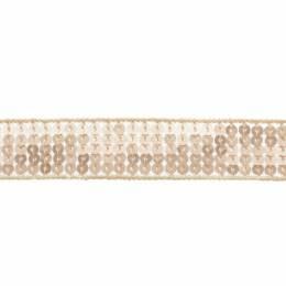 Galon paillettes 20mm rosé - 408