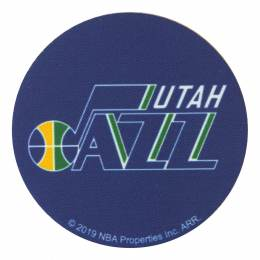 NBA Utah Jazz 7,5cm - Thermocollant et autocollant - 408