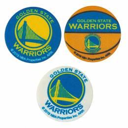 NBA Warriors 3,7cm - Thermo et autocollant - 408
