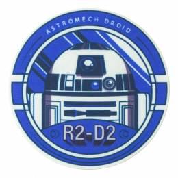 R2 d2 7,5cm - Thermo et autocollant Star wars - 408