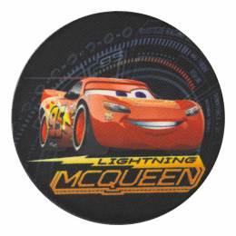 Cars Mc Queen 7,5cm - Thermo et autocollant - 408