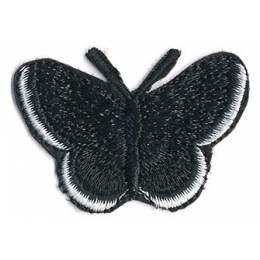 Thermocollant papillon noir 3,5 x 5 cm - 408