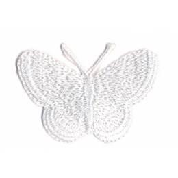 Thermocollant papillon blanc 3,5 x 5 cm - 408