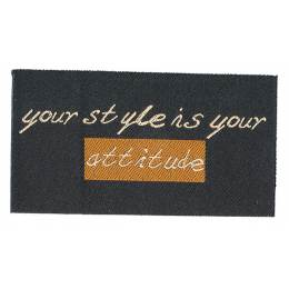 Thermocollant your style is your 5 x 9 cm - 408