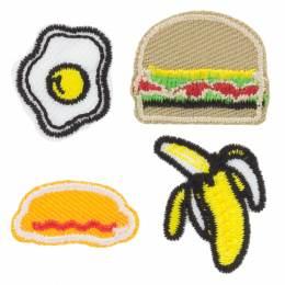 Thermocollant autocollants burger - 408