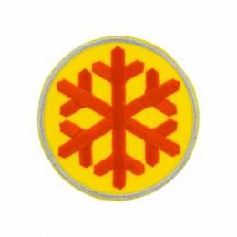 Thermocollant flocon 7x7cm - 408