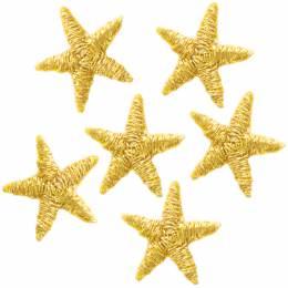 Mini étoiles thermocollantes or - 408