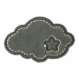 Thermocollant et autocollant nuage peluche 5x3cm - 408