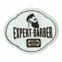 Thermocollant et autocollant expert barber 8x7cm - 408