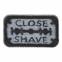 Thermocollant et autocollantclose shave 4x2cm - 408
