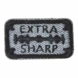 Thermocollant et auto extra sharp gris 4x2cm - 408