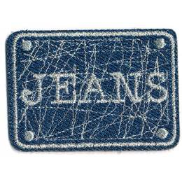 Thermocollant jeans 4 x 6 cm - 408