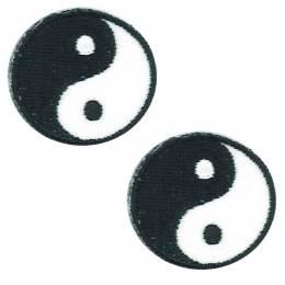 Thermocollant ying/yang 3 x 3 cm - 408