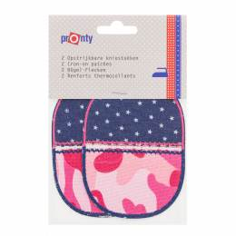 Coude thermocollant jeans 11,5x8,5cm - 408