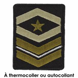 Thermocollant militaire 4 x 5 - 408