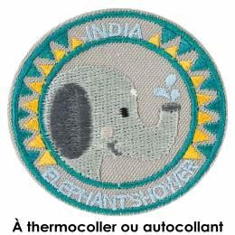 Thermocollant elephant shower india 5cm - 408