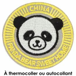 Thermocollant panda 5cm - 408