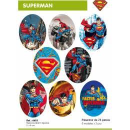 Présentoir thermocollant Superman - 408