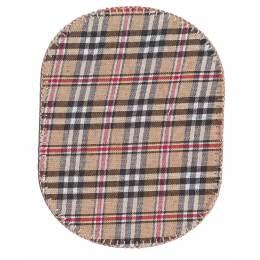 Coude écossais marron 10,5 x 8 cm - 408